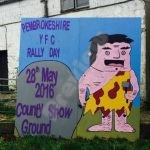 Brawdyhayscastle Rally Sign